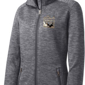 Logowear Womens' Stripe Fleece