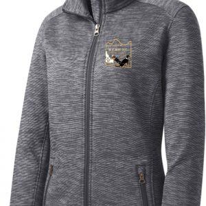 Logowear Womens' Stripe Fleece