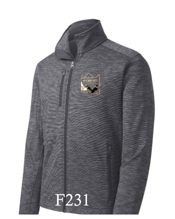Logowear Mens' Stripe Fleece